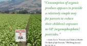 Pesticides and Childrens Health