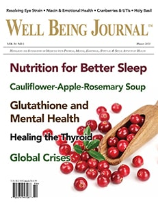 Well Being Journal Winter 2021 Cover